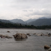 Abor Country River Camp By The Mighty Siang River