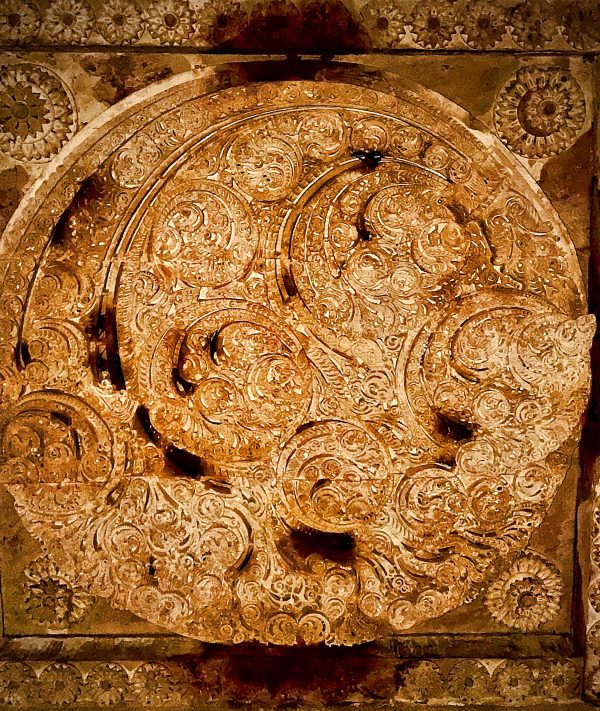 ceiling engraving CHampaner