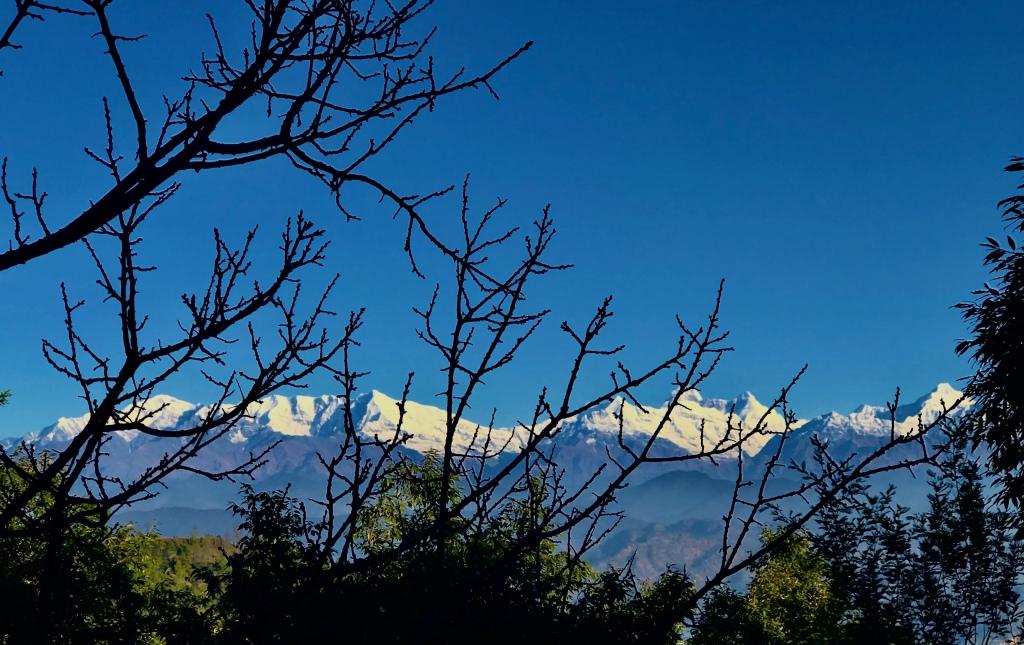 Kumaon range from Jhaltola