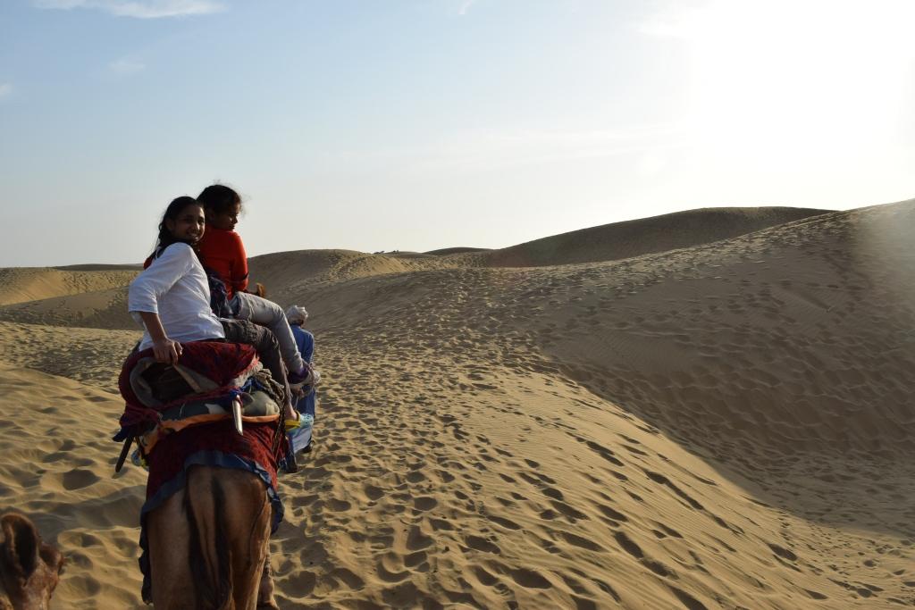 Sandy expanse of Thar desert