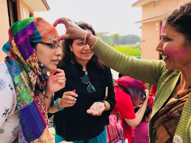 Chhoti Haldwani and Holi celebration